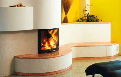 Private sector - fireplace